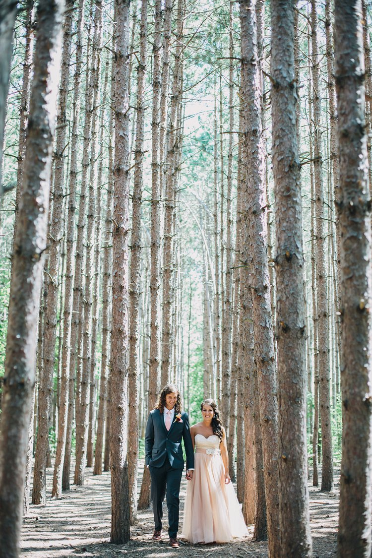 Jewish wedding Kortright Conservation Area, Vaughan, Canada