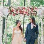 A Magical Woodland Jewish-French Wedding Bursting with Love at Kortright Conservation Area, Vaughan, Canada