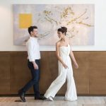A Jumpsuit-Wearing Bride for a Chic, Alternative Jewish Wedding at Avigdor 22, Tel Aviv, Israel