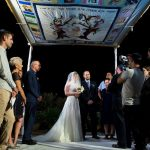 A Bright and Beautiful Family-Oriented Jewish Wedding With a Homemade Chuppah at St Andrew's Scottish Guesthouse in Jerusalem, Israel