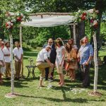 A Whimsical, Laid-Back Jewish Wedding Day Bursting with Color at Collingwood, Ontario, Canada