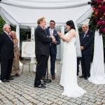 A Rockstar Jewish Wedding with a 'Sunset in the Garden' Theme at New York Botanic Gardens, NYC