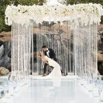 A Galia Lahav Bride for a Super Luxe White and Gold Jewish Wedding at The Four Seasons Westlake Village, California, USA