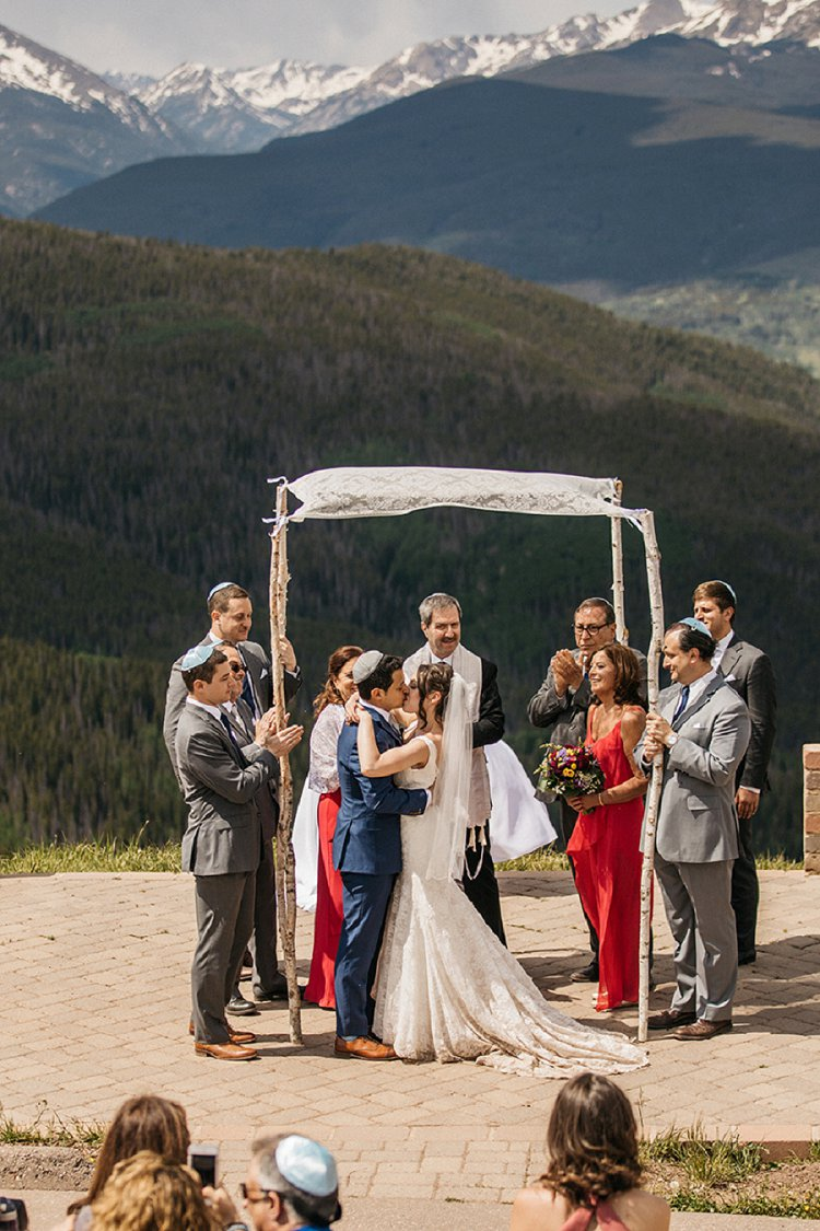 Jewish Wedding Vail Wedding Deck, Vail, Colorado, USA_0105