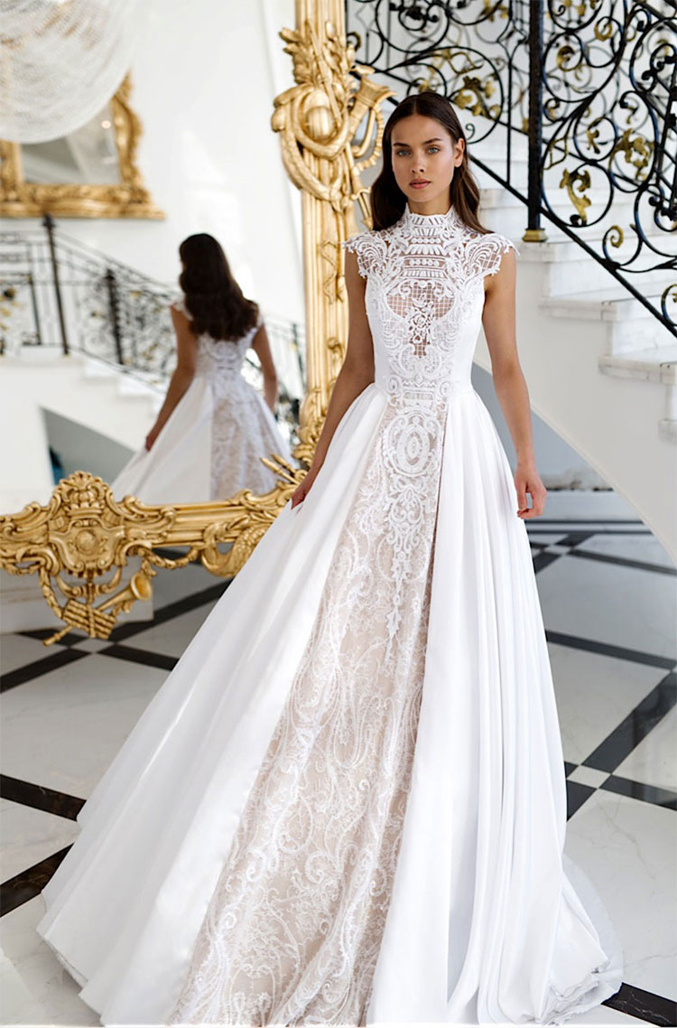3824f3f925c9 Luxe Wedding Dress Trends for 2018/19 – live from Mirror Mirror this ...