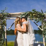 A Breathtaking Waterside Same Sex Jewish Wedding at a Private Residence, Kittery, Maine, USA