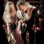 A Ritva Westenius Bride for a Moving Jewish Wedding at Rosewood London