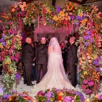 A Pronovias Bride for a Colorful Jewish Wedding With a Stunning Chuppah at The Berkeley, Knightsbridge, London, UK