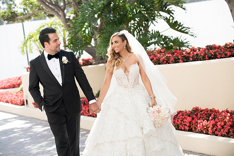 Jewish wedding The Beverly Hilton, Beverly Hills, California USA_0043