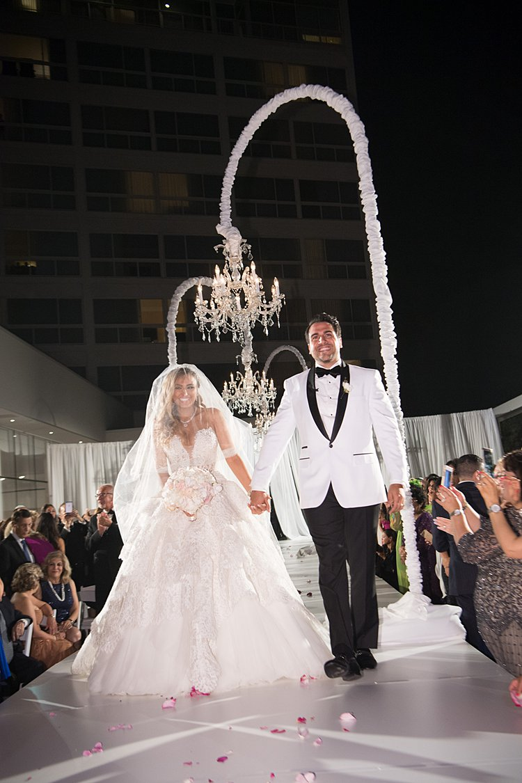 Jewish wedding The Beverly Hilton, Beverly Hills, California USA_0008