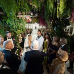 A Pnina Tornai Bride for a Super Luxe Colorful Jewish Wedding With a Show-Stopping Chuppah at The Beverly Hilton, Beverly Hills, California USA