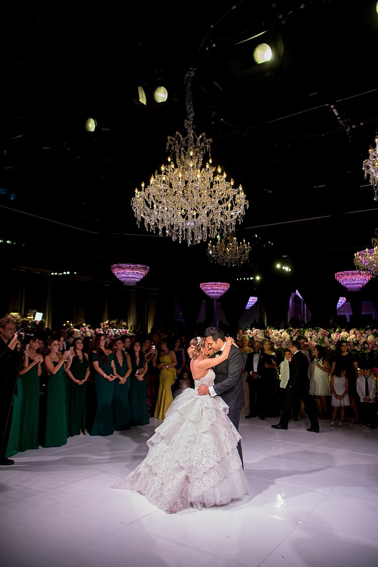 Jewish wedding The Beverly Hilton, Beverly Hills, California USA_0047