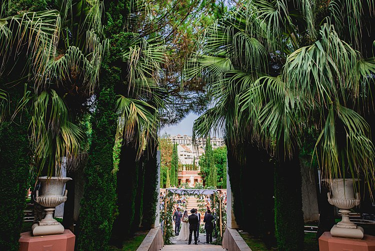 Destination Jewish wedding Villa Padierna Palace LOV Olivia Valere Marbella Spain