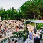 A Liz Martinez Bride for a Summer Chic Jewish Wedding with an Epic Dance Party in Marbella, Spain