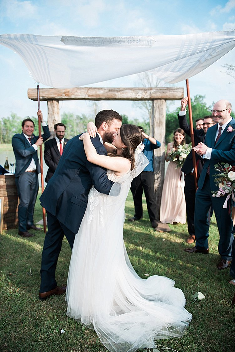 Jewish wedding Beckendorff Farms in Katy, Texas USA