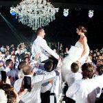 A Carolina Herrera Bride for a Super Elegant Jewish Wedding at Capesthorne Hall, Cheshire, UK