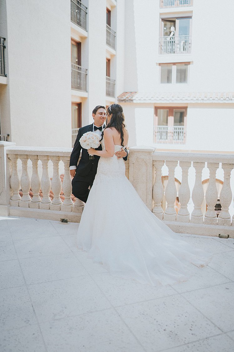 A Martina Liana Bride for a Beachy Jewish Wedding in Delray Beach ...