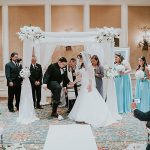 A Martina Liana Bride for a Beachy Jewish Wedding in Delray Beach, Florida, USA