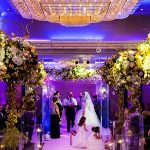 An Oleg Cassini Bride for a Multicultural Jewish Wedding at Jumeirah Carlton Tower Hotel, Belgravia, London, UK
