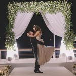 A Berta Bride for a Hi-Tech Forest-Themed Jewish Wedding at Lago, Tel Aviv, Israel