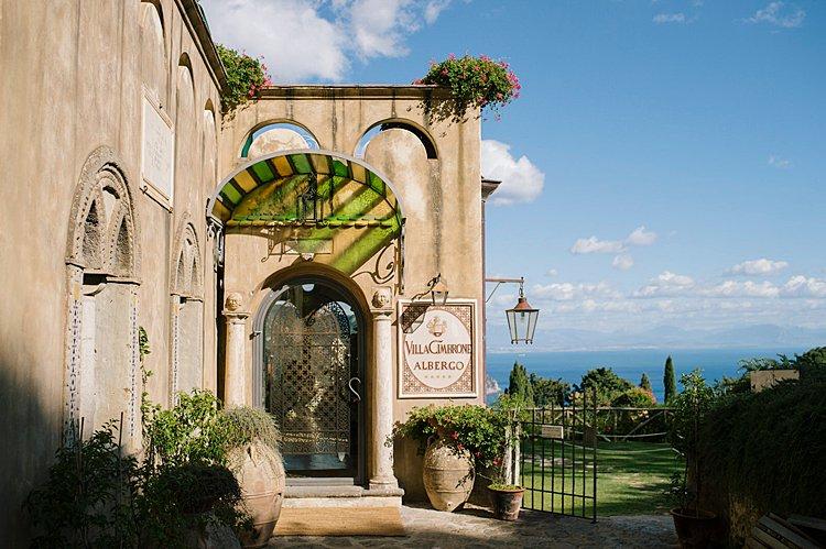 Destination Jewish Wedding Villa Cimbrone Ravello Amalfi Coast Italy_0007