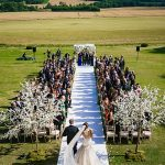 A Demetrios Bride for a Stylish Jewish Wedding at Super Cool Venue Aynhoe Park, Banbury, UK