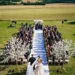 A Demetrios Bride for a Stylish Jewish Wedding at Super Cool Venue Aynhoe Park, Banbury, UK