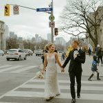 A Mori Lee Bride for a '20s Hollywood Glam Jewish Wedding at the Eglinton Grand, Toronto, Canada