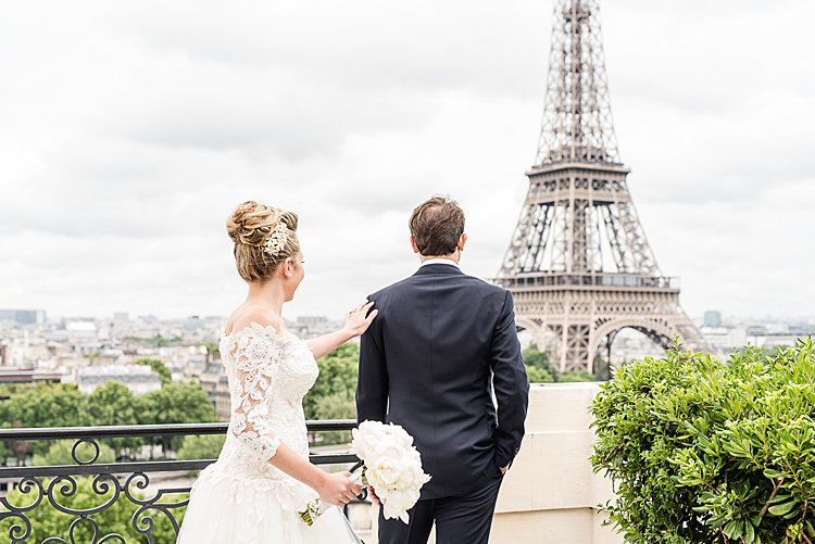 Jewish wedding Shangri-La Paris France