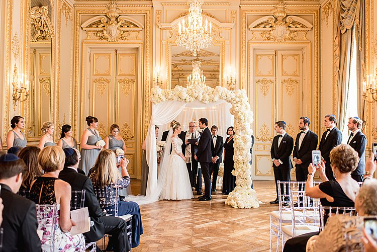cb965368ce1 A Super Luxe Laduree-Fuelled Interfaith Jew-ish Wedding at the ...