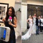 Behind-The-Scenes at the Galia Lahav 2019 Fashion Show at Browns Bride, London