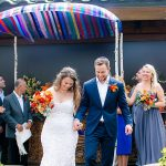 A Theia Bride for an Intimate Rooftop Destination Jewish Wedding at Sugar, Miami, Florida, USA