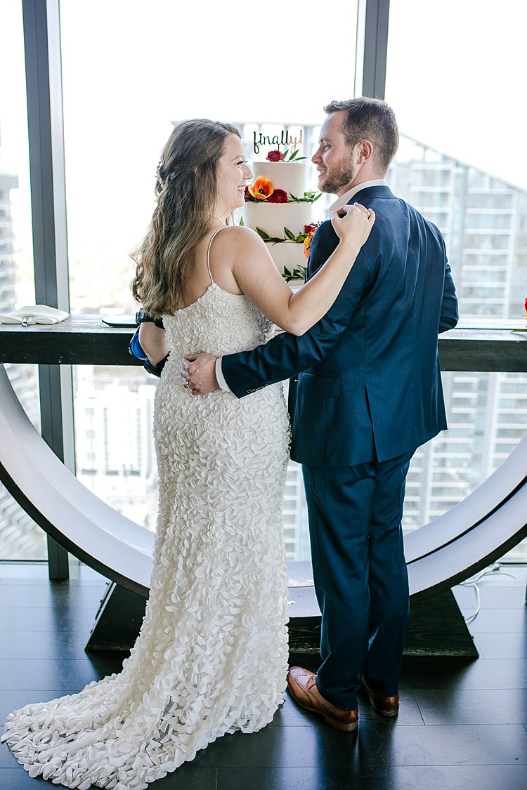 Jewish Wedding at Sugar on the rooftop of the East Hotel Miami FL USA_0059