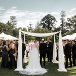 An Outdoor Garden Jewish Wedding at Kamesburgh Gardens, Brighton, and Peninsula Docklands, Melbourne, Victoria, Australia