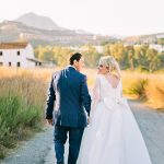 A Mediterranean Garden Destination Jewish Wedding at El Cortijo de los Caballos in Marbella, Spain