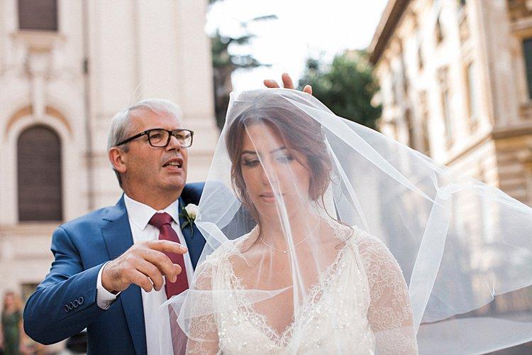 Destination Jewish Wedding Synagogue + Villa Aurelia Rome Italy_0016