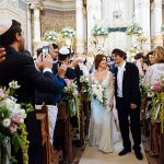 A Jenny Packham Bride for an Ultra-Romantic Destination Jewish Wedding at the Great Synagogue and Villa Aurelia, Rome, Italy