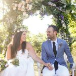 A Jane Yeh Bride for a Multicultural Outdoor Destination Jew-ish Wedding at La Verriere, La Chene Bleu Winery in Provence, France