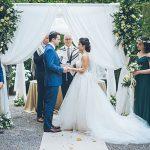 An Ines di Santo Bride for a Destination Jewish Wedding at Villa Grabau in Lucca, Tuscany, Italy