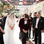 A Vesselina Bride for an Edgy, Colorful Jewish Wedding at Fox Junction in Johannesburg, South Africa