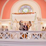 An Eddy K Bride for a Modern Vintage Jew-ish Wedding at Sixth & I Synagogue and Loft at 600 F, Washington, DC, USA