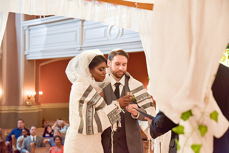 Jewish wedding Sixth & I Synagogue and Loft at 600 F, Washington DC, USA_0015