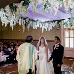A Mori Lee Bride for a City Chic Jewish Wedding at St. Pancras Renaissance, London, UK