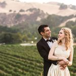 A Vintage Bride with an Heirloom Gown for an Outdoor Wedding at Wente Vineyards, Livermore, CA, USA