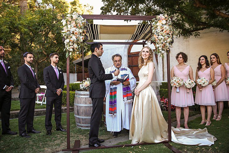 Jewish wedding Wente Vineyards in Livermore, California USA_0025