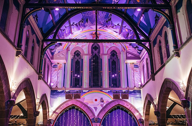 Jewish Wedding Garnethill synagogue and Oran Mor converted church Glasgow Scotland UK_0057