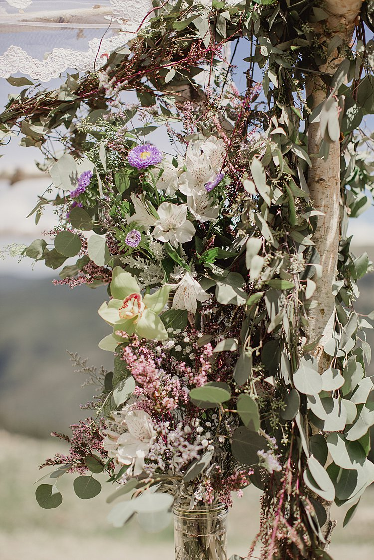 Jewish Wedding at 11,420 feet on the top of a mountain (Kachina Basin) in Taos Ski Valley, New Mexico USA_0021