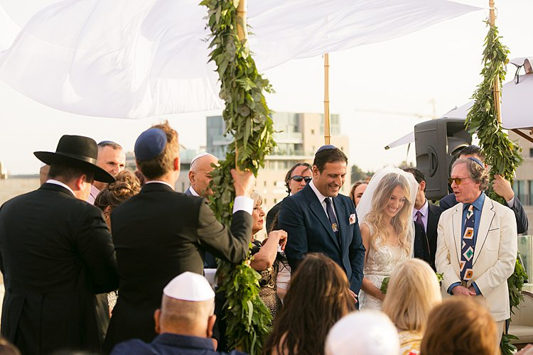 Jewish wedding Mamilla Hotel in Jerusalem