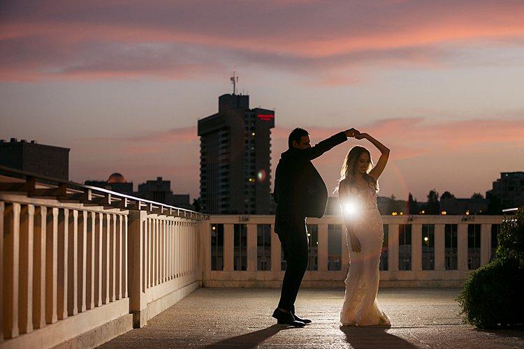 Jewish wedding Mamilla Hotel in Jerusalem