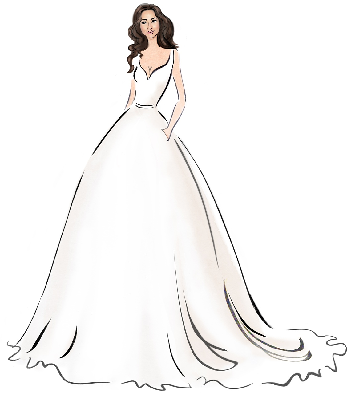 From Sketch To Dress: A Q&A With Master Bridal Designer